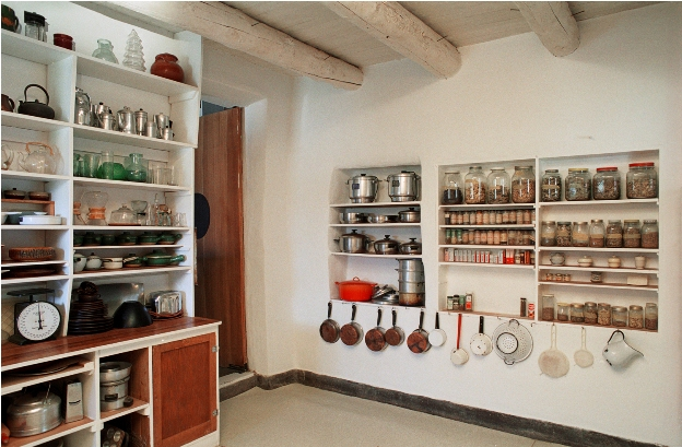 Pantry-Georgia-OKeeffe-House-Abiquiu-NM-Photo-courtesy-Georgia-OKeeffe-Museum